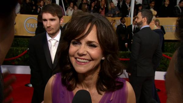 Sally Field, at SAG Awards, talks about awards season