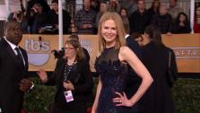 Nicole Kidman poses on the red carpet at the 2013 SAG Awards in Los Angeles on Jan. 27, 2012. - Provided courtesy of OTRC