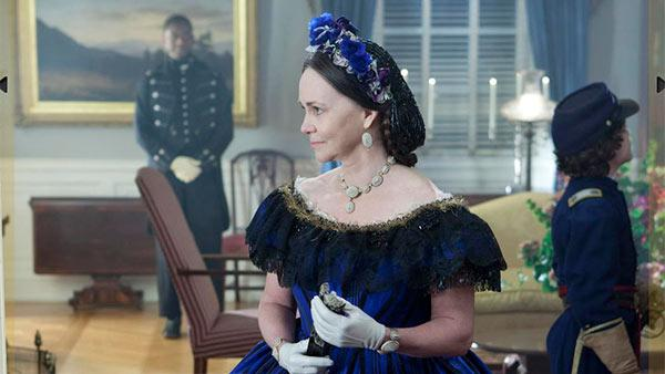 Sally Field appears in a scene from the 2012 film 'Lincoln.'