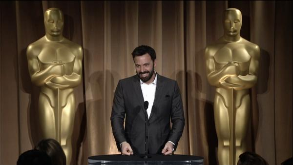 Ben Affleck talks competition for best picture at Oscar Luncheon