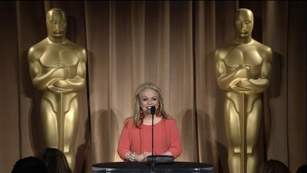 Jacki Weaver talks Oscar nomination, feeling 'lucky'