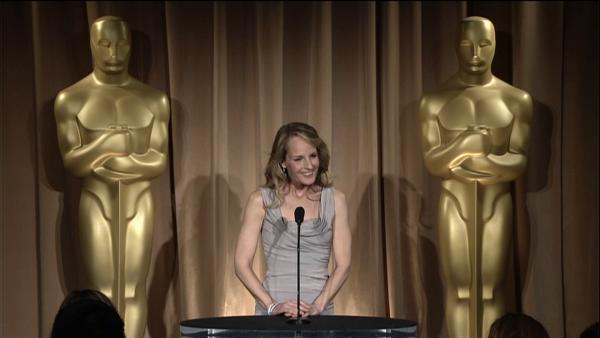 Helen Hunt talks inspiration for 'The Sessions' at Oscar Luncheon