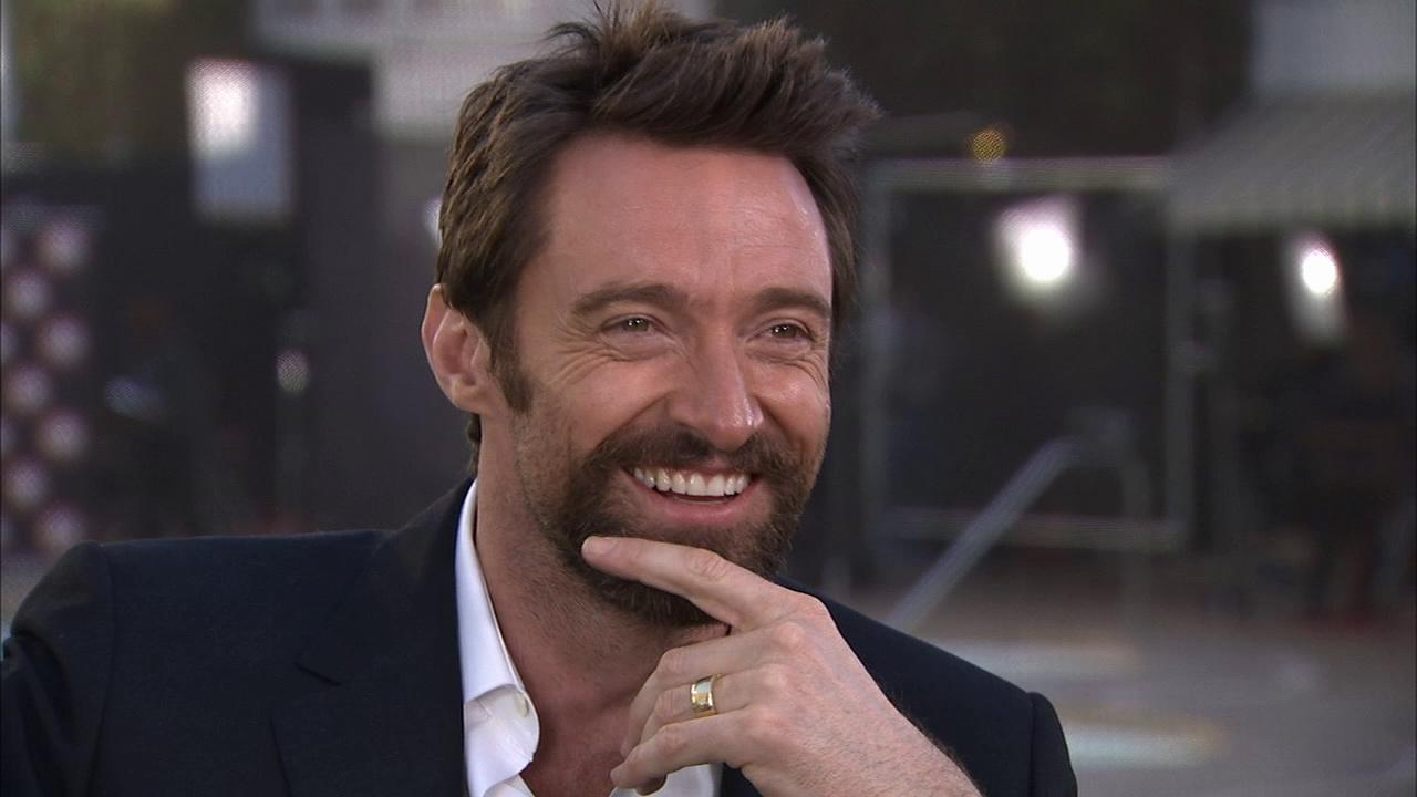 Hugh Jackman talks to OTRC.com about his wife, Les Mis and Russell Crowe at the 85th Academy Awards Nominees Luncheon.