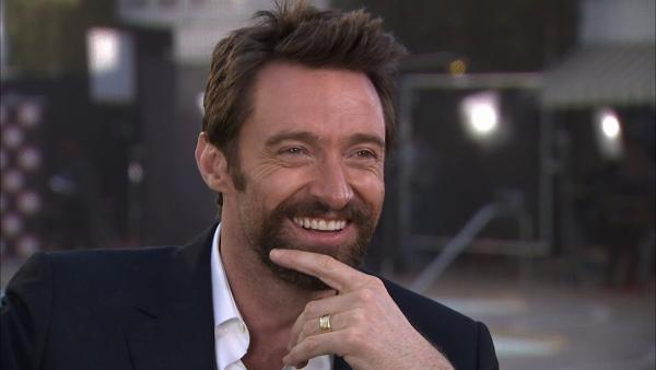 Hugh Jackman talks to OTRC.com about his wife, Les Mis and Russell Crowe at the 85th Academy Awards Nominees Luncheon. - Provided courtesy of OTRC / OTRC