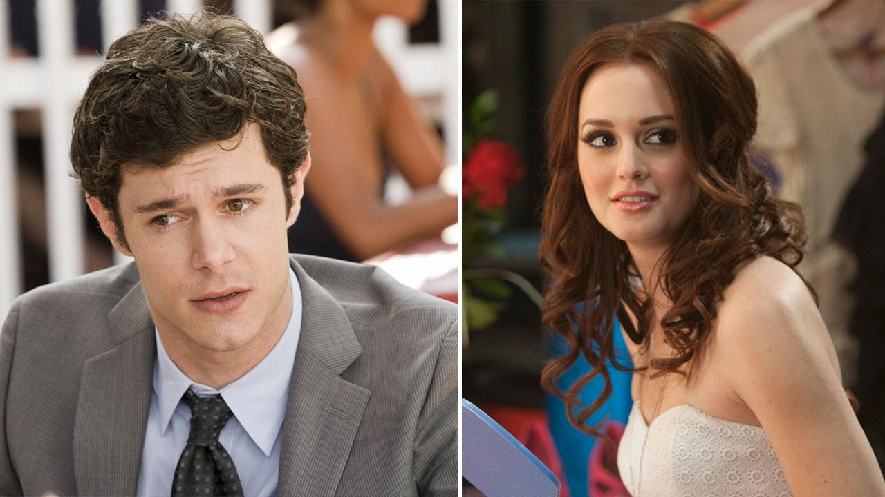 Leighton Meester appears in a scene from Country Strong. / Adam Brody appears in a scene from the film Cop Out.