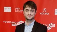 Actor Daniel Radcliffe poses at the premiere of Kill Your Darlings during the 2013 Sundance Film Festival on Friday, Jan. 18, 2013 in Park City, Utah.