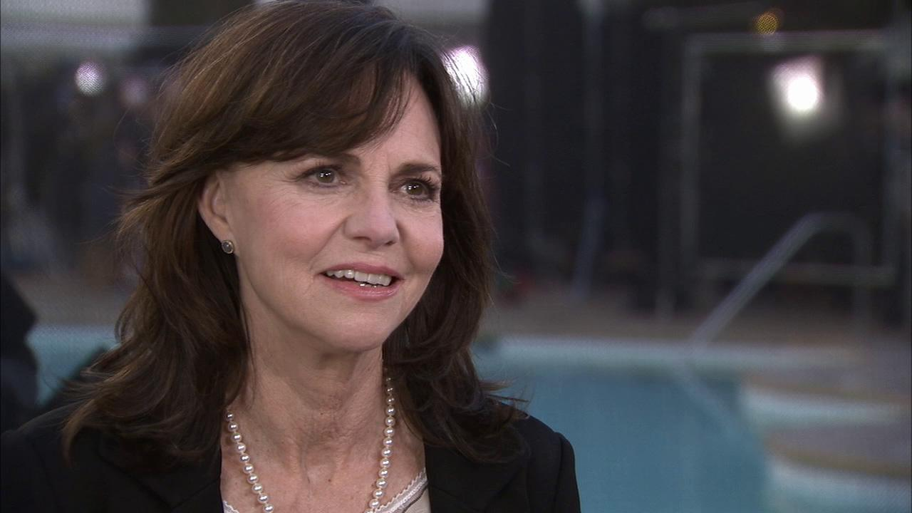Sally Field talks to OTRC at the 85th Academy Awards Nominees Luncheon on February 4 at the Beverly Hilton hotel.
