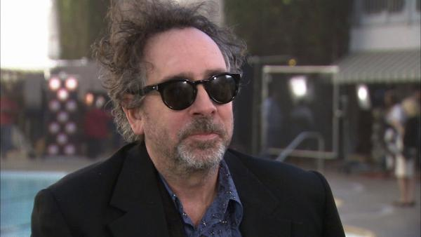 Tim Burton talks animation and film at the Oscar luncheon