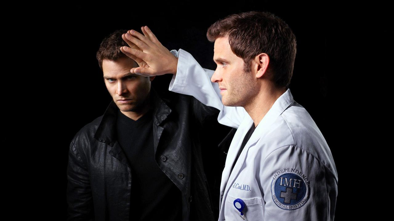 Steven Pasquale appears in a promotional photo for the 2013 series Do No Harm.