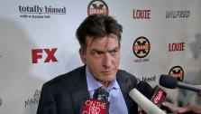 Charlie Sheen talks to OnTheRedCarpet.com at the premiere of his new FX show, Anger Management, in Los Angeles on June 26, 2012. - Provided courtesy of OTRC
