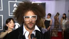 Redfoo talks to OTRC.com at the 2013 Grammys on Feb. 10, 2013. - Provided courtesy of OTRC