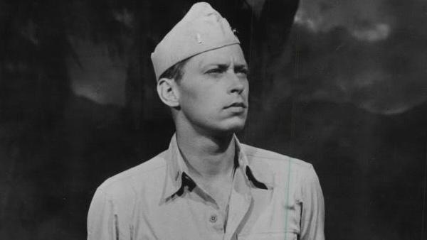 John Kerr appears in a scene from his 1958 film South Pacific. - Provided courtesy of Magna Theatre Corporation / South Pacific Enterprises / Rodgers and Hammerstein Productions