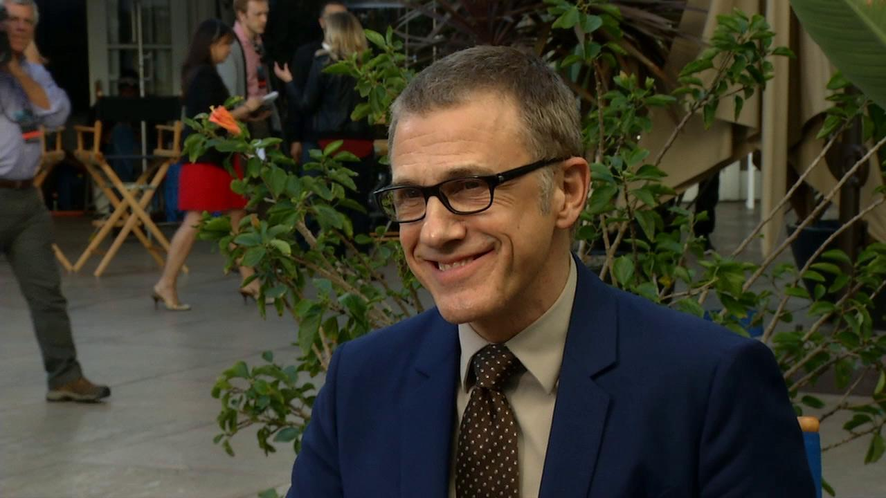 Christoph Waltz talks to OTRC.com at the Academys 2013 Oscar Nominees Luncheon on February 4 at the Beverly Hilton hotel.
