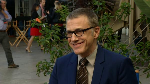 Christoph Waltz talks Quentin Tarantino at Oscar luncheon