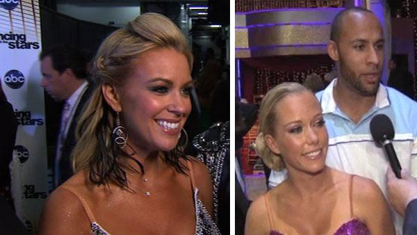 Kate Gosselin and Tony Dovolani talk to OTRC.com about week 4 of Dancing With the Stars on April 13, 2010. / Kendra Wilkinson and Hank Baskett talk to OTRC.com about Dancing With the Stars after she was eliminated on May 3, 2011. - Provided courtesy of OTRC