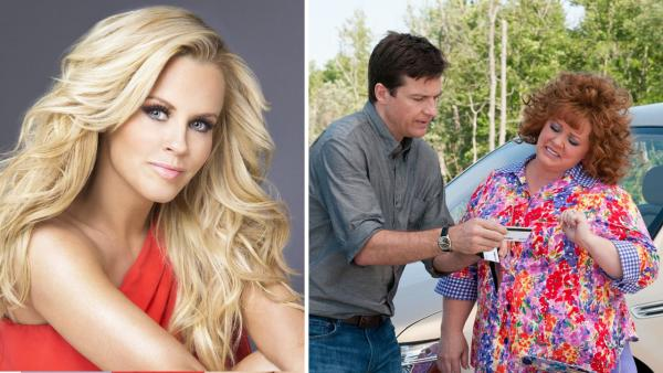 Jenny McCarthy appears in an undated promotional photo for her 2013 talk show The Jenny McCarthy Show. / Melissa McCarthy and Jason Bateman appear in a promotional photo for the 2013 film Identity Thief. - Provided courtesy of VH1 / Universal Pictures