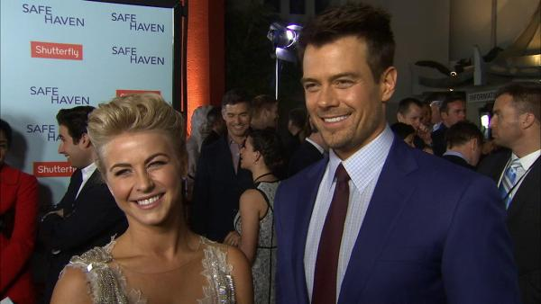 Julianne Hough: I'll make Derek watch 'Safe Haven' love scenes