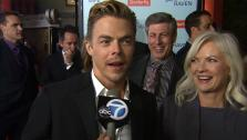 Derek Hough talks to OTRC.com at the premiere of Safe Haven on Feb. 5, 2013. - Provided courtesy of OTRC