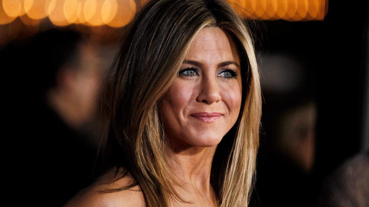 Jennifer Aniston arrives to the Los Angeles premiere of the comedy film Wanderlust on Feb. 16, 2012. The movie hit theaters on Feb. 24, 2012.