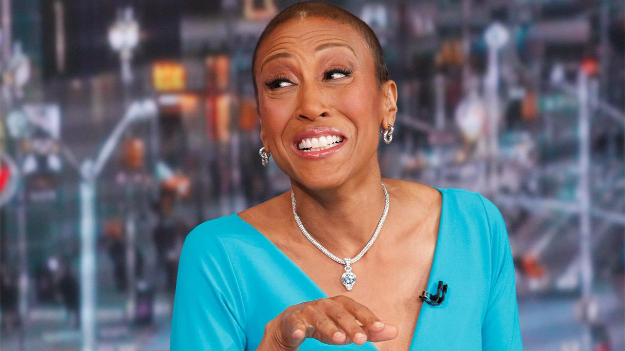 Robin Roberts appears on ABCs Good Morning America on Feb. 20, 2013.