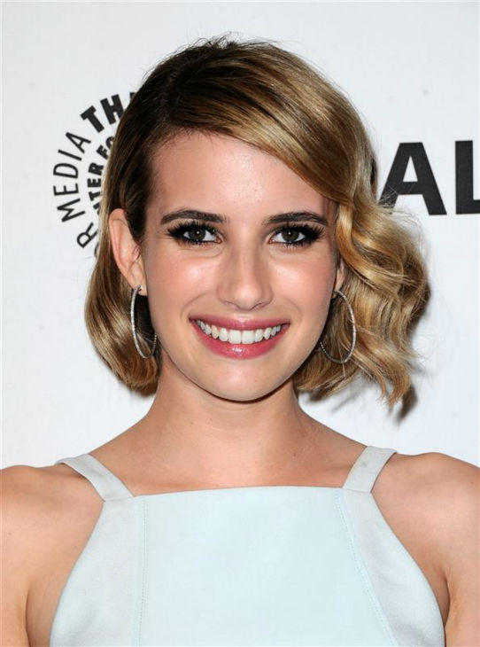 Emma Roberts appears at a PaleyFest event celebrating the FX series &#39;American Horror Story: Coven,&#39; presented by the Paley Center for Media, at the Dolby Theatre in Hollywood, California on March 28, 2014. She is wearing a chiffon Finders Keepers dress.  <span class=meta>(Sara De Boer &#47; Startraksphoto.com)</span>