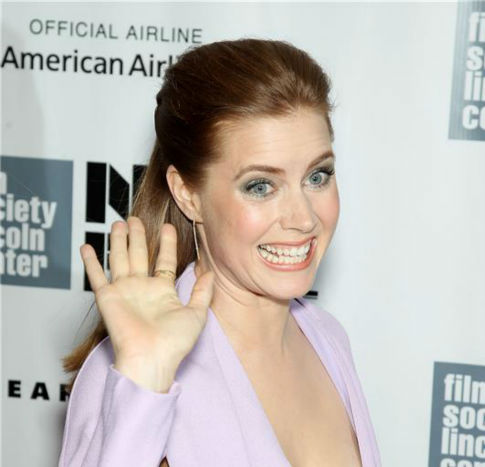 Amy Adams attends the closing night gala presentation of &#39;Her. A Spike Jonze Love Story&#39; at the 2013 New York Film Festival on Oct. 12, 2013. <span class=meta>(Marion Curtis &#47; Startraksphoto.com)</span>