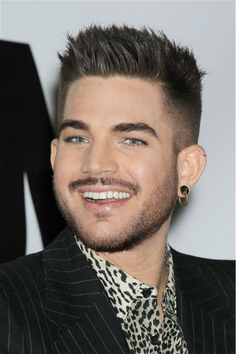 "<div class=""meta ""><span class=""caption-text "">Adam Lambert appears with Queen members Brian May and Roger Taylor (not pictured) at a press conference at New York City's Madison Square Garden on March 6, 2014, in which they announced a summer North American tour. (Mario Curtis / Startraksphoto.com)</span></div>"