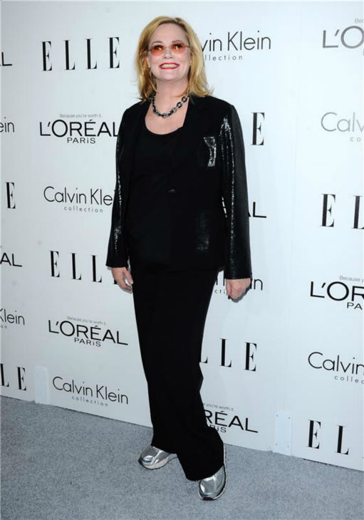 Cybill Shepherd attends ELLE's 20th Annual Women In Hollywood gala in Beverly Hills, California on Oct. 21, 2013.