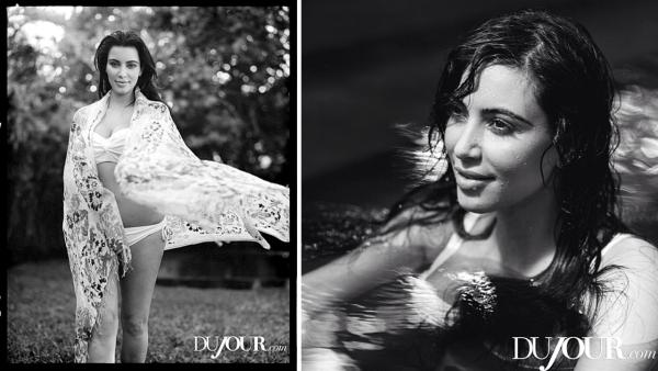 Kim Kardashian appears in a 2013 photo shoot for Dujour magazine. - Provided courtesy of Dujour.com / Bruce Weber