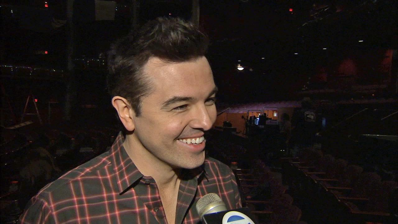 Seth MacFarlane talks to OTRC.com about the Oscars on February 20, 2013.