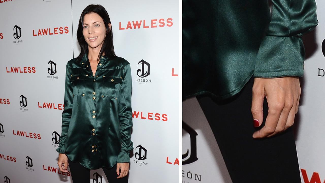 Liberty Ross, a model and wife of director Rupert Sanders, appears at the premiere and after party of the movie Lawless, sponsored by DeLeon Tequila, at Eden in Hollywood on Aug. 22, 2012. <span class=meta>(Earl Gibson III&#47;WireImage)</span>