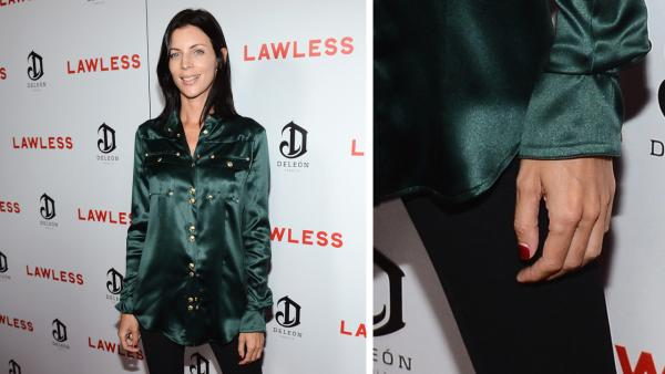 Liberty Ross, a model and wife of director Rupert Sanders, appears at the premiere and after party of the movie 'Lawless,' sponsored by DeLeon Tequila, at Eden in Hollywood on Aug. 22, 2012.