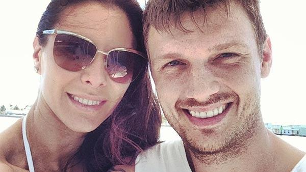 Nick Carter and fiancee Lauren Kitt appear in a photo posted on the singers Instagram page on February 22, 2013. - Provided courtesy of http://instagram.com/p/WCsLdfuCoZ/