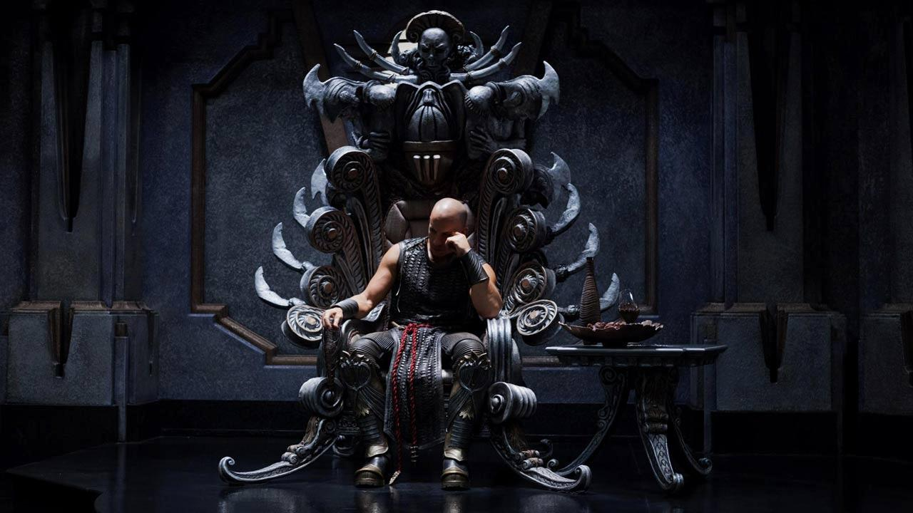Vin Diesel appears in a promotional photo for the 2013 film Riddick, that was posted on his Facebook page on February 22, 2013.