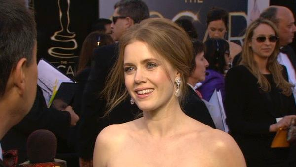 Amy Adams talks to OTRC at Oscars 2013
