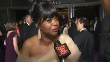 Octavia Spencer talks to OTRC.com before entering the Governors Ball after the 2013 Oscars. - Provided courtesy of OTRC