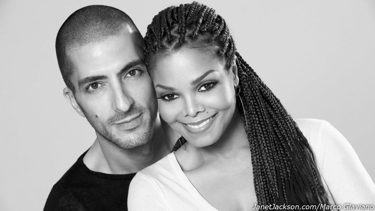 Janet Jackson and Wissam Al Mana appear in an undated photo for their wedding announcement on February 25, 2013, on Jacksons official website.