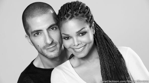 Janet Jackson and Wissam Al Mana appear in an undated photo for their wedding announcement on February 25, 2013, on Jacksons official website. - Provided courtesy of JanetJackson.com/Marco Glaviano