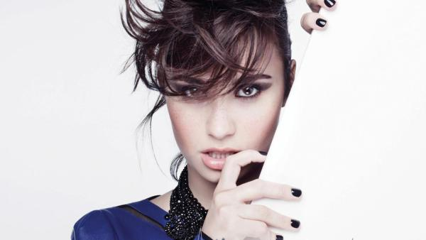 Demi Lovato appears in a promotional photo for her single Heart Attack. The image was posted on her official Facebook page on February 12, 2013. - Provided courtesy of facebook.com/DemiLovato