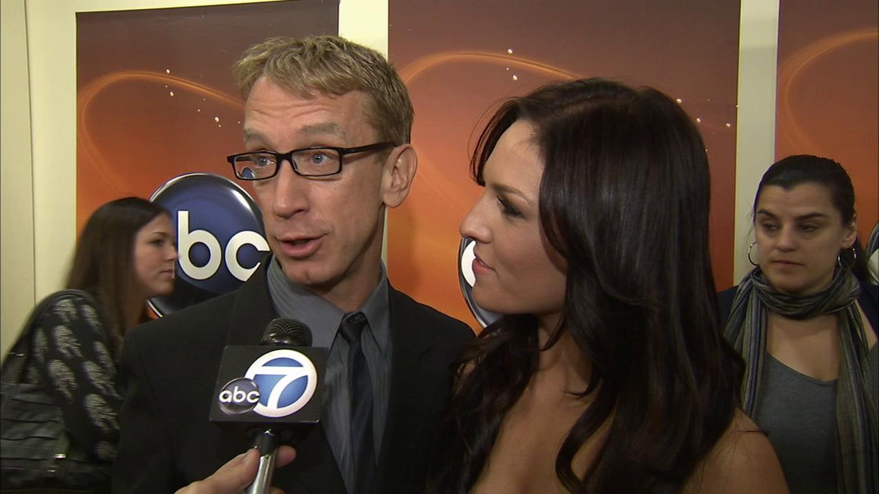 Andy Dick talks to OTRC.coms George Pennacchio about being a contestant on the 16th season of Dancing with the Stars on February 26, 2013.