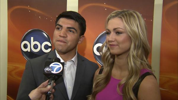 Boxer Victor Ortiz talks his competitive side on 'DWTS'