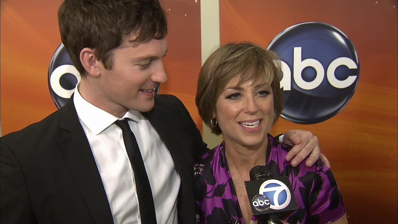 Dorothy Hamill talks to OTRC.coms George Pennacchio about being a contestant on the 16th season of Dancing with the Stars on February 26, 2013.