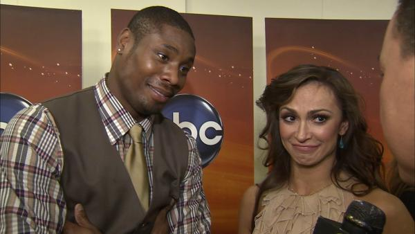 Jacoby Jones talks his 'DWTS' partner Karina Smirnoff
