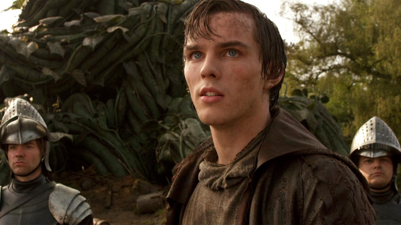 Nicholas Hoult in a scene from the 2013 film, Jack the Giant Slayer.