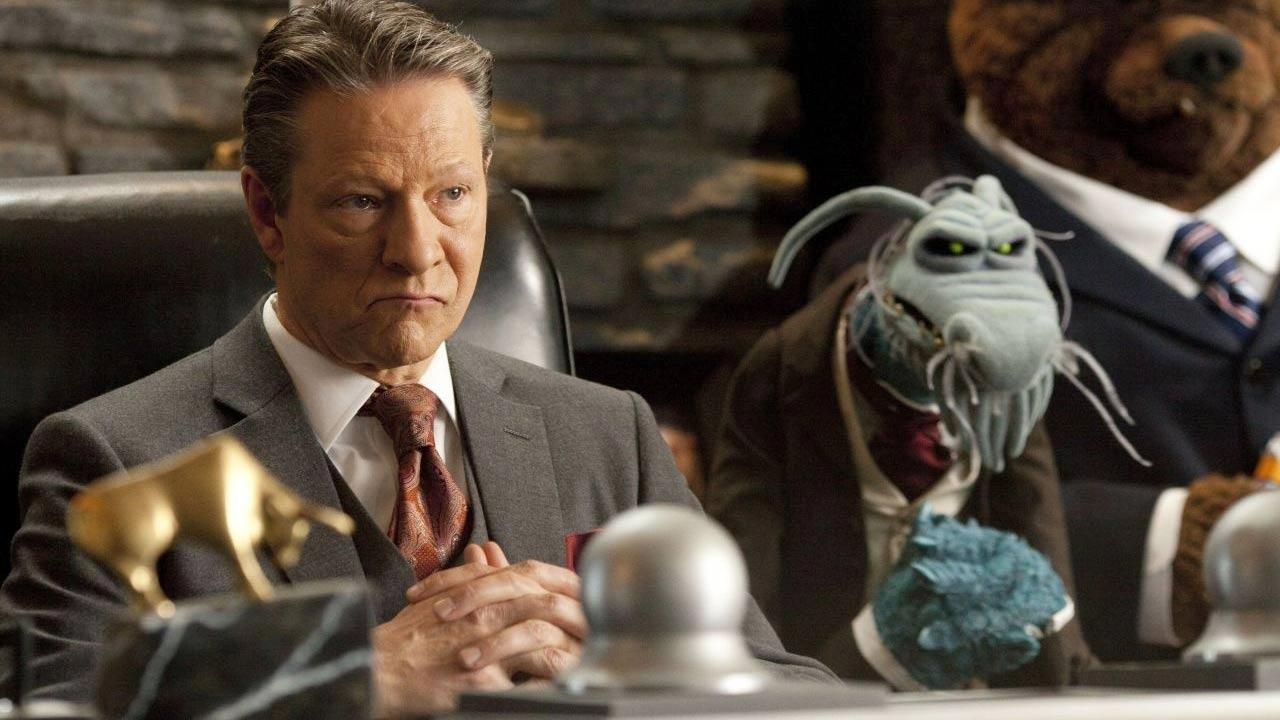 Chris Cooper appears as Tex Richman in the 2011 film The Muppets.