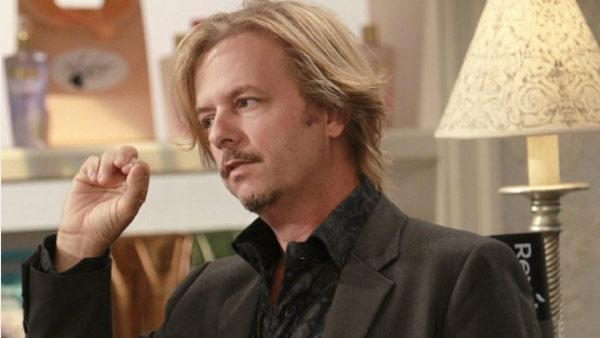 David Spade appears in a scene from his CBS show, Rules of Engagement. - Provided courtesy of CBS / Happy Madison Productions
