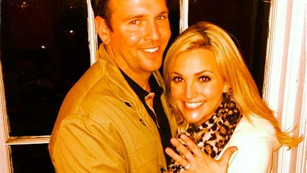 Jamie Lynn Spears appears in a March 2 photo from her Instagram account alongside fiance Jamie Watson. - Provided courtesy of instagram.com/p/WYOrwxkAlw/