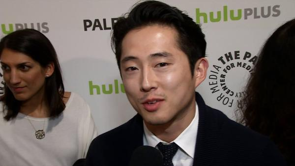 Steven Yeun, aka Glenn, talks 'Walking Dead' at Paleyfest