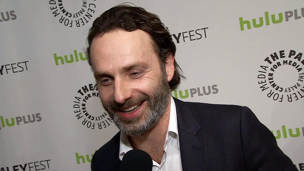 Andrew Lincoln of AMCs The Walking Dead talks to OTRC.com at Paleyfest on March 1, 2013.