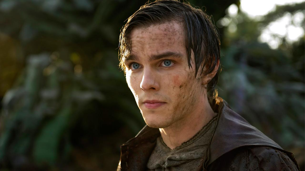 Nicholas Hoult appear in a scene for the 2013 film Jack the Giant Slayer.